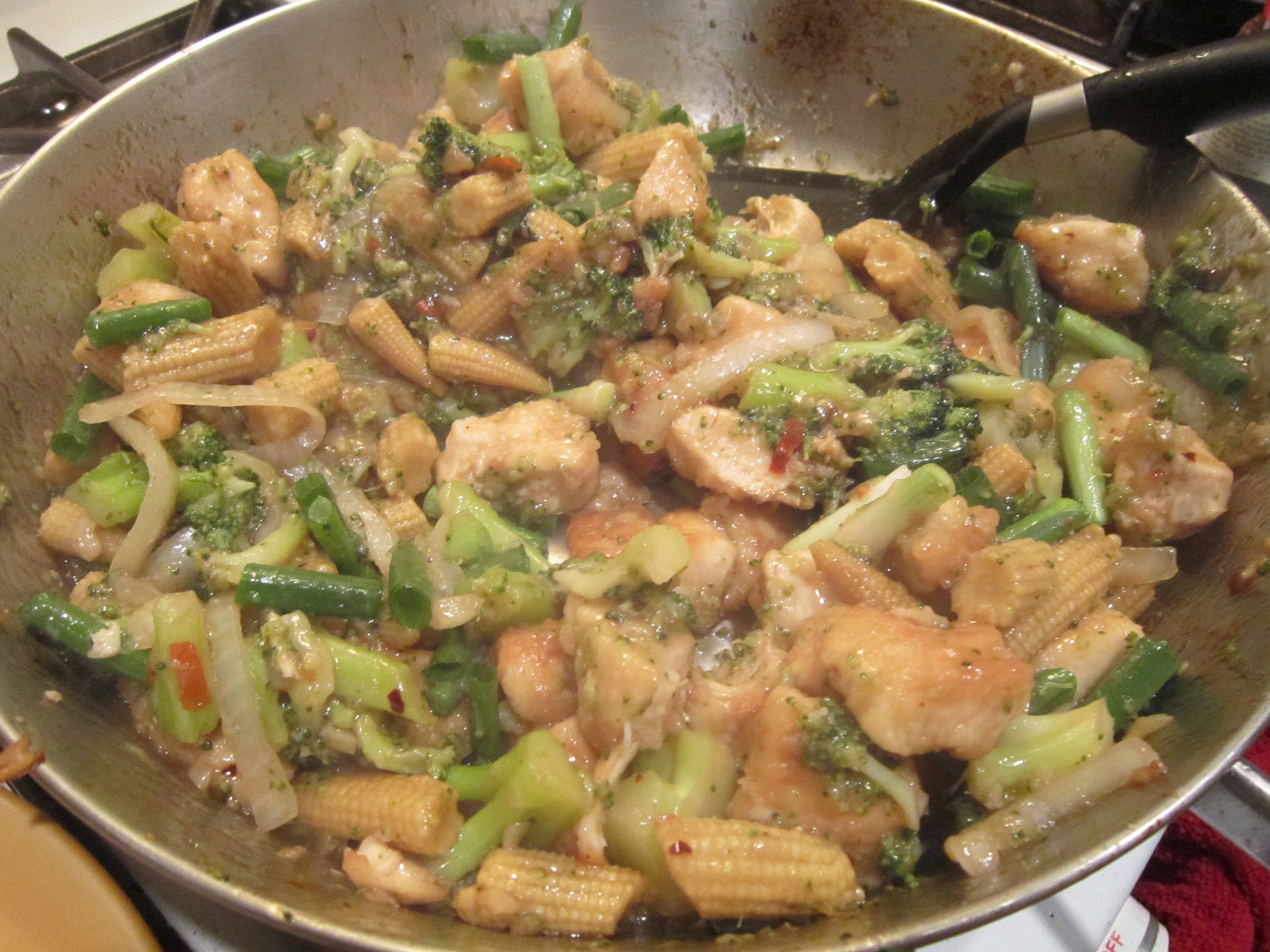 chicken with cashew nuts | spill the beans