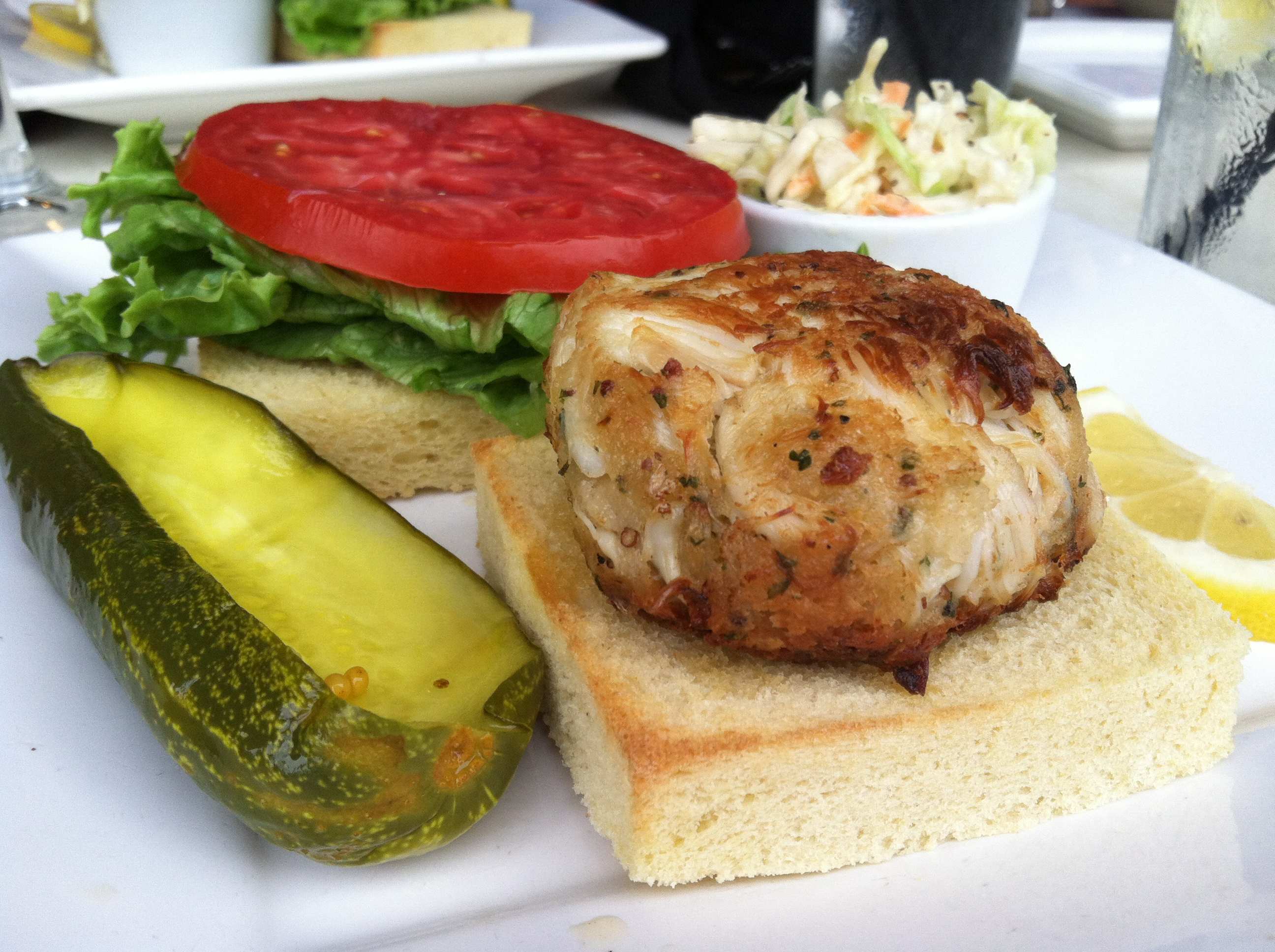 Crab Cake In Federal Hill Baltimore