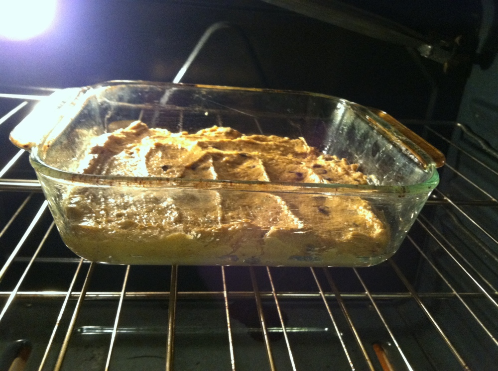 pumpkin blondies 007
